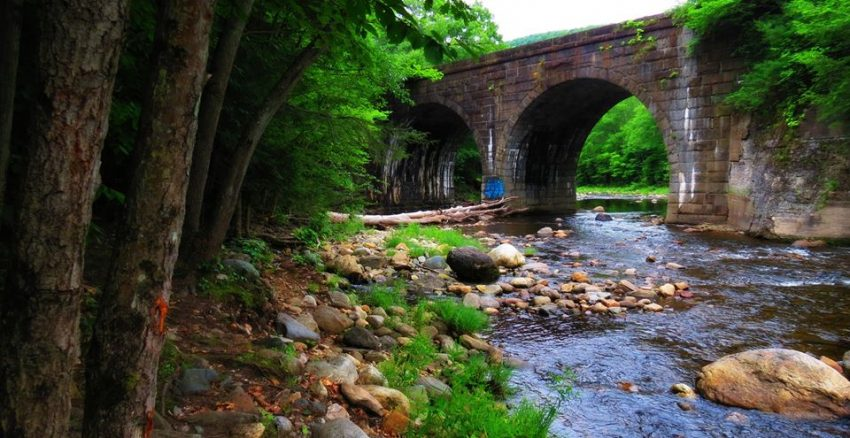 Keystone Arch Bridges Trail, Chester MA - Rachael McGrath photo