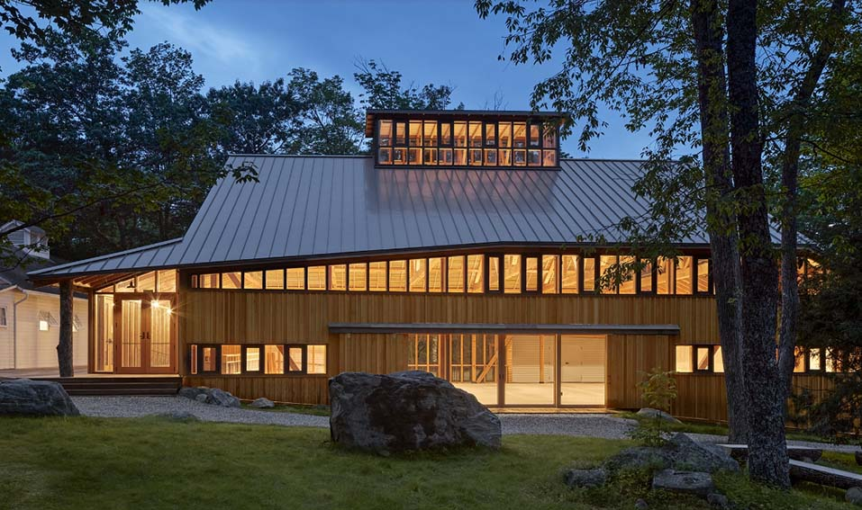 This building was damaged by a fire in 2020 but Jacob's Pillow will be back in 2021 for more dance performances and workshops.